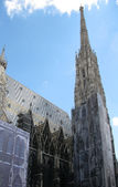 St. Stephane's cathedral in Vienna (Austria) — 图库照片