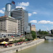 Stock Photo: Danube Embankment in Vienn(Austria)