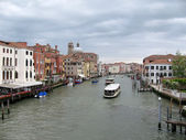 Panorama of Big channel (Venice, Italy) — Stock Photo