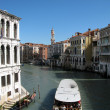 View of Venice channel (Italy) — Stock Photo