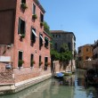 Channel panorama in Venice (Italy) — Stock Photo