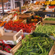 Vegetable counter in market in Venice (Italy) — Stock Photo #31049819