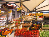 Food market in Venice (Italy) — Stock Photo