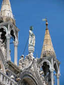 Part of Patriarchal Cathedral Basilica of Saint Mark (Venice, Italy) — Stock Photo
