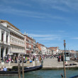 The embankment in Venice (Italy) — Stock Photo