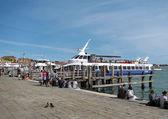 Embankment in Venice (Italy) — Stock fotografie