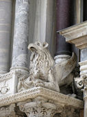 Chimera statue in  Doge's Palace ( Venice, Italy) — Stock Photo