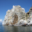Stock Photo: Legend ShamankRock on Olkhon Island, Lake Baikal