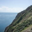Cape Khoboy, the north point of Olkhon Island, lake Baikal, Russia — Stock Photo