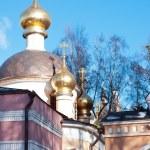 Ortodox Church of the Transfiguration, Peredelkino, Russia — Stock Photo