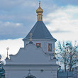 Temple in Kiev Lavra — Stock Photo