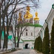 Church of All Saints on the economic gateway to the Kiev-Pechersk Lavra — Stock Photo #18634955