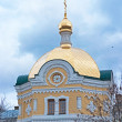 Sergius church in Kiev-Pechersk Lavra — Stock Photo