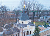 Church in Kiev-Pechersk Lavra monastery in Kiev — Stock Photo