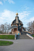 View at the St Michael s chapel, Kiev — Foto Stock