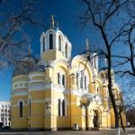 Vladimir Cathedral in Kiev, Ukraine — Stock Photo #27779869