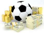 Sport & Bet — Stock Photo