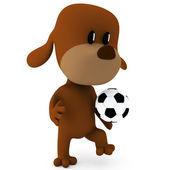 Jogador de futebol — Fotografia Stock