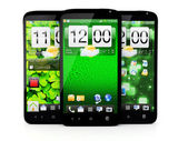 Touchscreen smartphone — Stock Photo