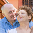 Happy senior couple — Stock Photo #12554711