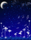 Evening nature — Stock Photo
