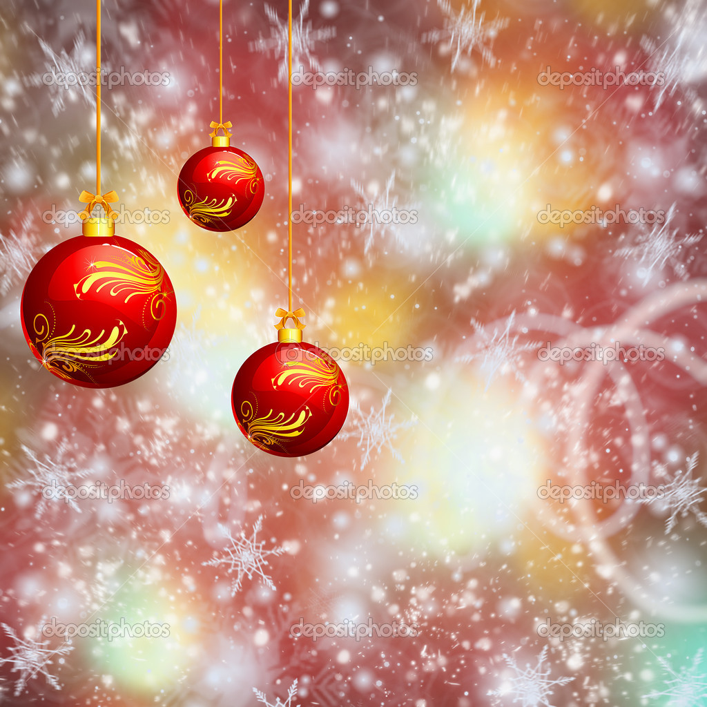 Christmas decoration baubles — Stock Photo #14340265