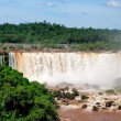 Iguazu falls in Misiones province, Argentina — Stock Photo