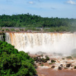 Iguazu falls in Misiones province, Argentina - Stock Photo
