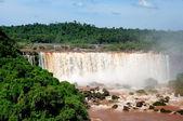 Iguazu falls in Misiones province, Argentina — Stock Photo