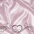 Hearts texture background - Stock Photo