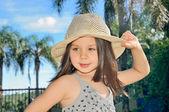Güzel küçük kız — Stok fotoğraf