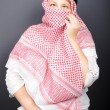 Woman in the hijab - Stock Photo