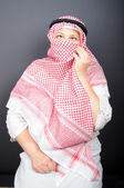 Woman in the hijab — Stock Photo