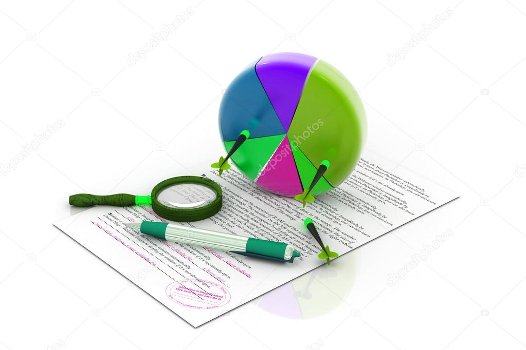 Business graph analyzing — Stock Photo #14174194