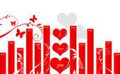 Liebe symbol — Stockfoto