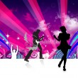 Dancing party — Stock Photo