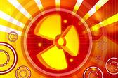 Radiation symbol — Stock Photo