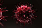 3d Virus — Stock Photo
