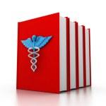 Medical book — Stock Photo