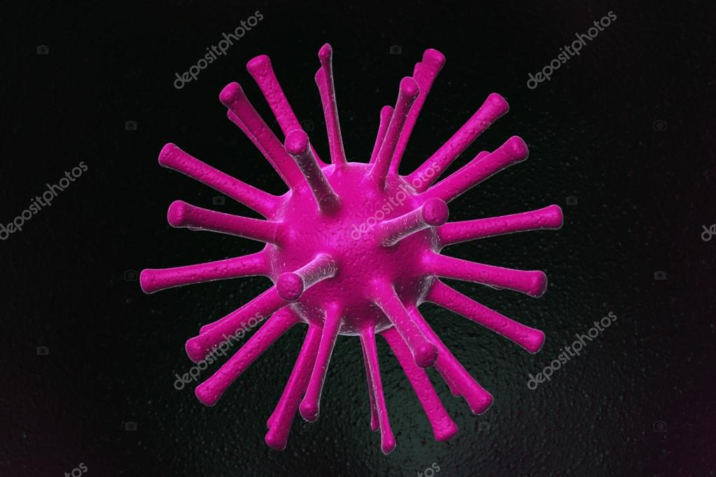 Virus 3d — Stock Photo #18657521