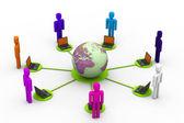Global community — Stock Photo