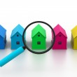Search a new house. — Stock Photo #19161595
