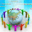 Global community — Stock Photo