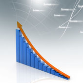 Business graph — Foto de Stock