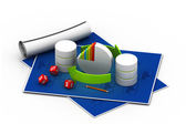 Databases concept.(business concept) — Stock Photo
