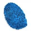 Finger print — Stockfoto