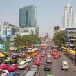 Traffic Jam in Bangkok — Stock Photo #13209346