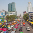Traffic Jam in Bangkok - Stock Photo