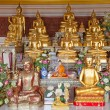 Sacred Buddha images - Stock Photo