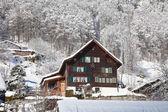 Inverno nos alpes — Foto Stock